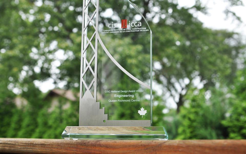 Custom Metal & Glass Award