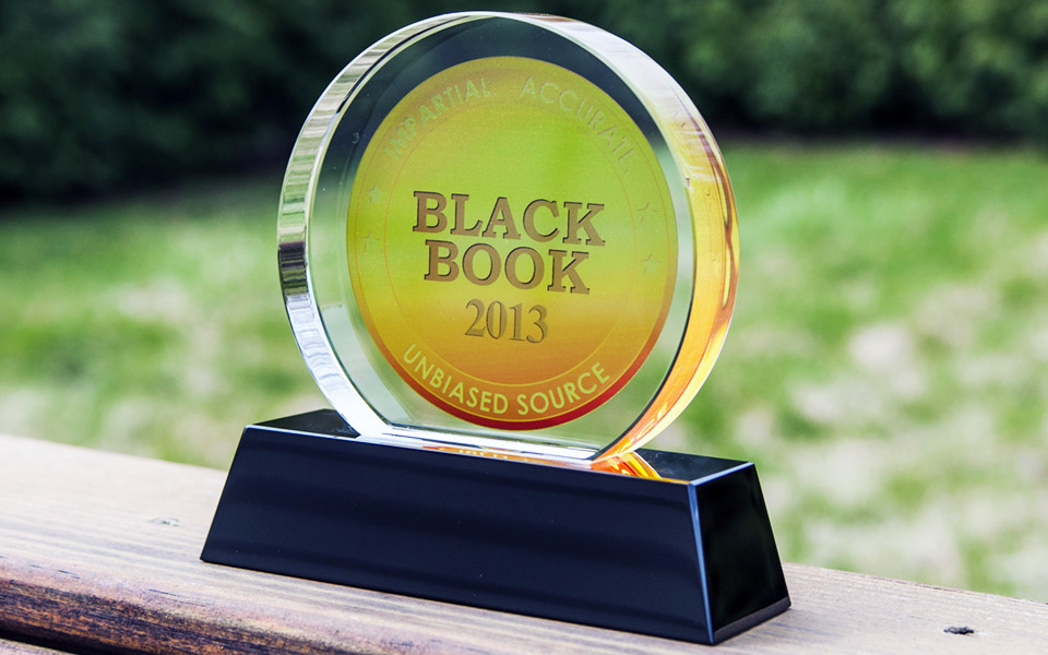 Circular Crystal Award