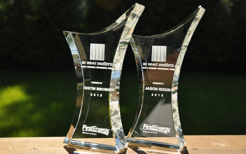 Abstract Crystal Awards