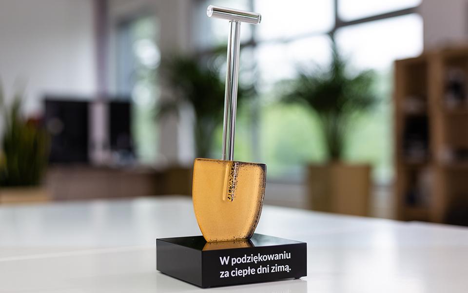 Glass Shovel Award