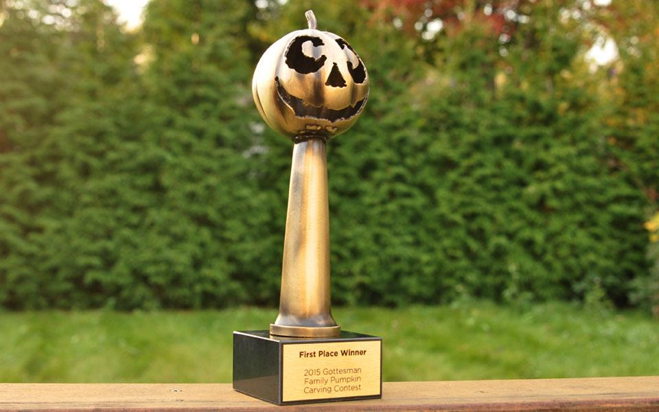 Handmade Artistic Metal Trophy