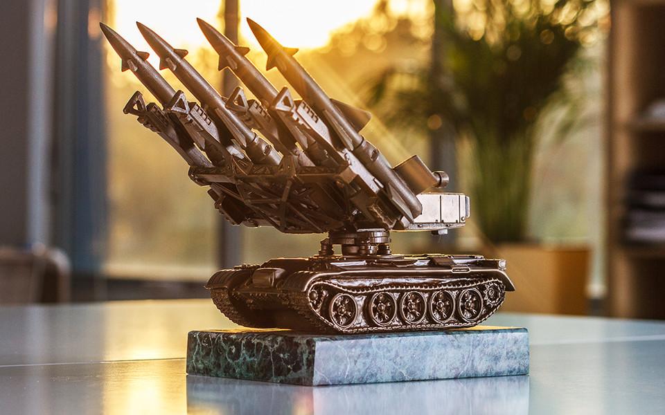 3D printed missile award